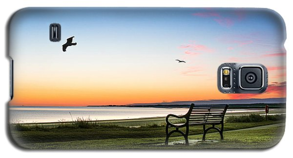 Nairn Beach At Dawn Galaxy S5 Case