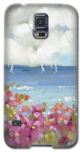 Nantucket Sea Roses Galaxy S5 Case by Joyce Hicks