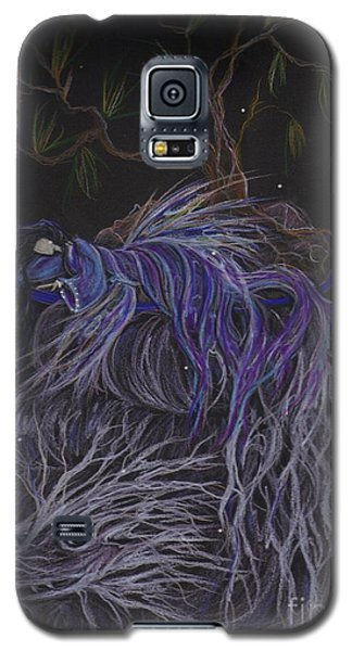 Galaxy S5 Case featuring the drawing Nap by Dawn Fairies