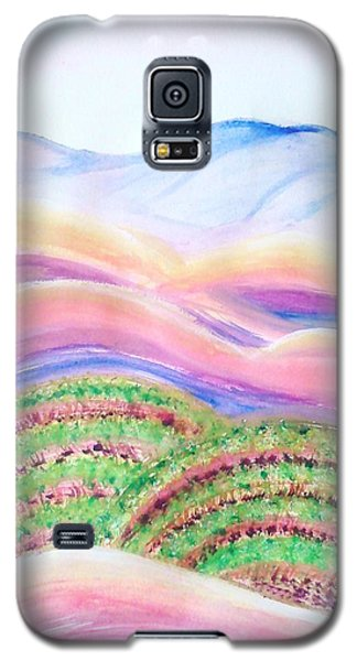 Galaxy S5 Case featuring the painting Napa Valley by Carol Duarte