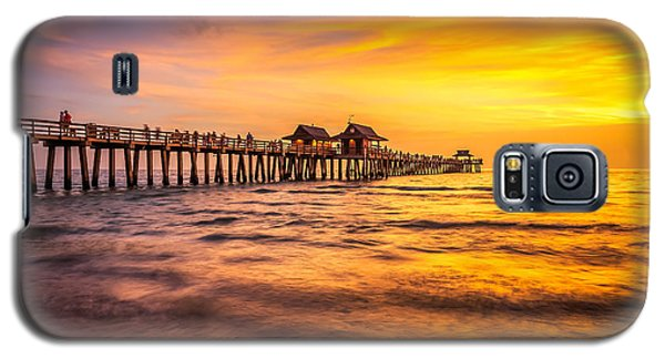Naples Pier Sunset Galaxy S5 Case