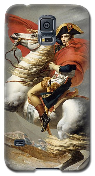 Napoleon Bonaparte On Horseback Galaxy S5 Case by War Is Hell Store