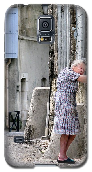 Galaxy S5 Case featuring the photograph Naptime In Arles. France by Jennie Breeze