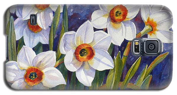 Narcissus Daffodil Flowers Galaxy S5 Case