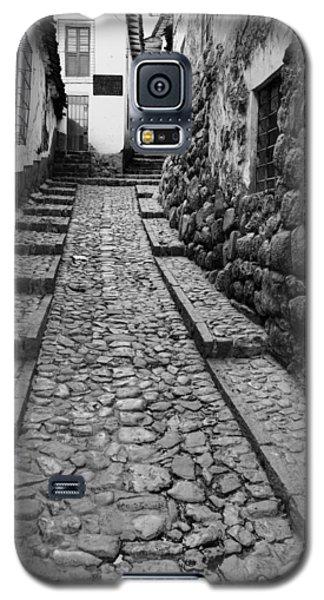 Narrow Street In Cusco Galaxy S5 Case