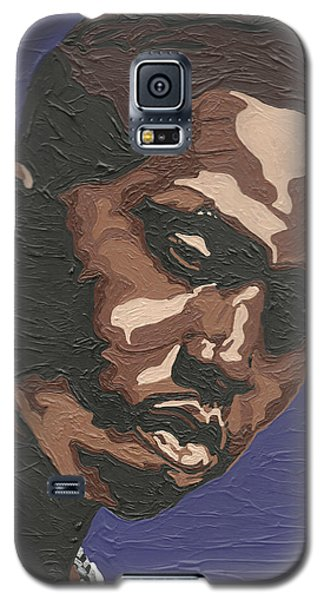 Galaxy S5 Case featuring the painting Nas by Rachel Natalie Rawlins
