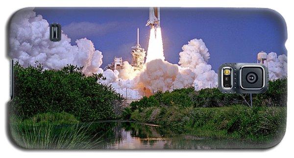 Nasa Atlantis Launch 1 Galaxy S5 Case by Rod Jones