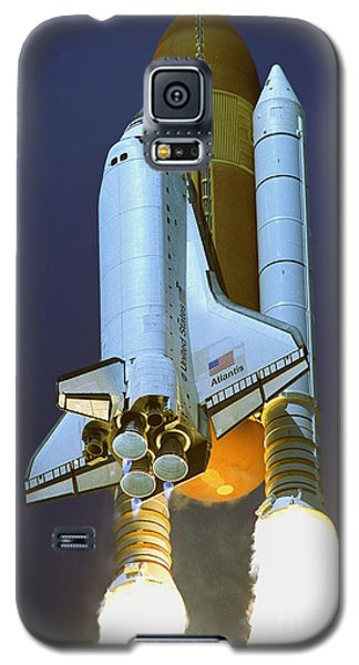 Nasa Atlantis Launch 2 Galaxy S5 Case