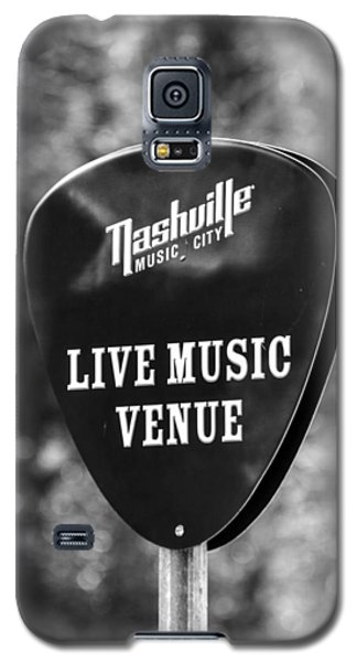 Nashville Music City Sign Galaxy S5 Case by Debbie Green