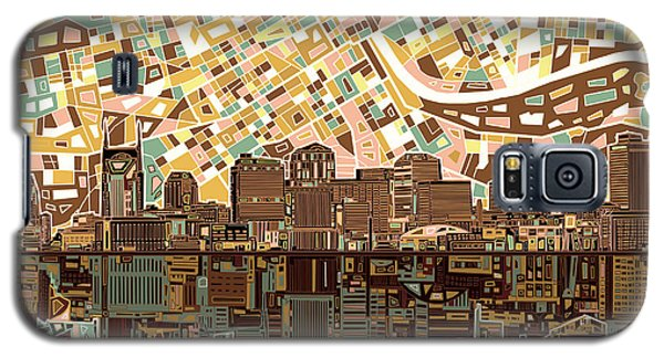 Nashville Skyline Abstract 4 Galaxy S5 Case