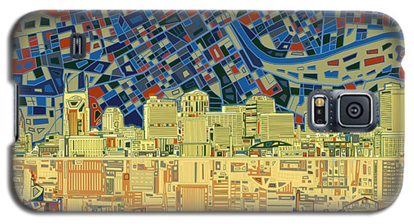 Nashville Skyline Abstract 9 Galaxy S5 Case