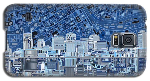 Nashville Skyline Abstract Galaxy S5 Case