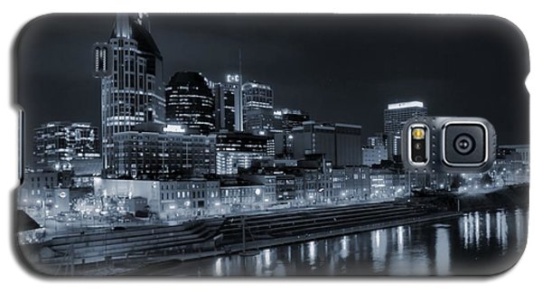Nashville Skyline At Night Galaxy S5 Case