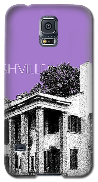 Nashville Skyline Belle Meade Plantation - Violet Galaxy S5 Case by DB Artist