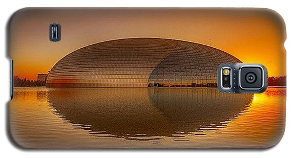 Sunny Galaxy S5 Case - National Centre For The Performing Arts by Sunny Merindo