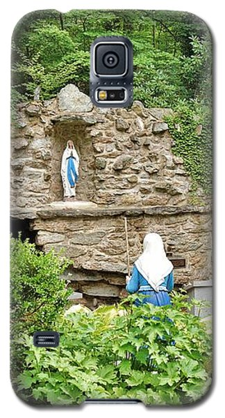 National Shrine Grotto Of Our Lady Of Lourdes Galaxy S5 Case