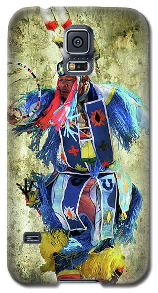 Galaxy S5 Case featuring the photograph Native American Dancer by Barbara Manis
