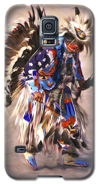 Native American Dancer Galaxy S5 Case by Clare VanderVeen