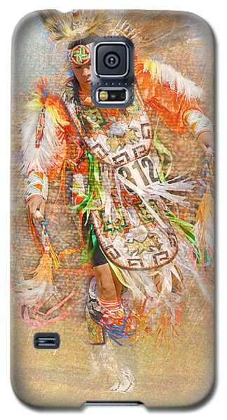 Native American Dancer Galaxy S5 Case