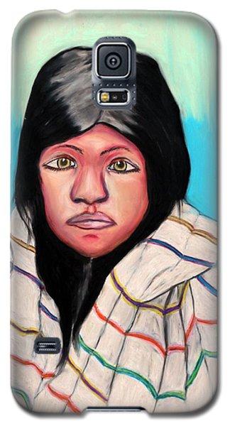 Native American Girl 1 Galaxy S5 Case