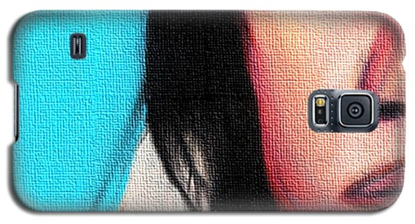 Native American Girl 2 Galaxy S5 Case