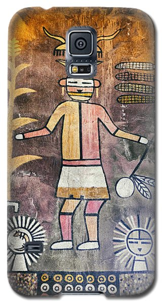 Native American Harvest Pictograph Galaxy S5 Case