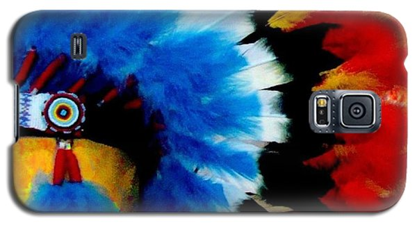 Native American Headdress Galaxy S5 Case by Janette Boyd