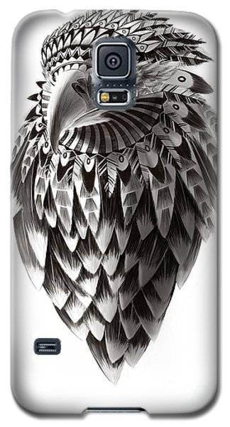 Native American Shaman Eagle Galaxy S5 Case