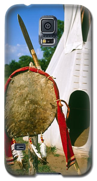 Native American Shield And Spear Galaxy S5 Case