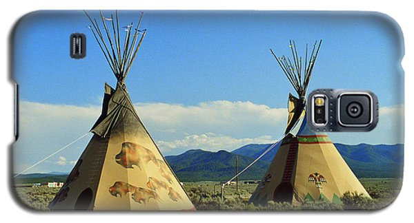 Native American Teepees  Galaxy S5 Case