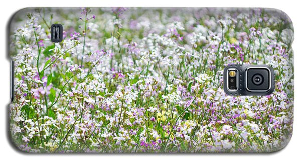 Galaxy S5 Case featuring the photograph Native Chumash Central Coast Wildflowers by Kyle Hanson