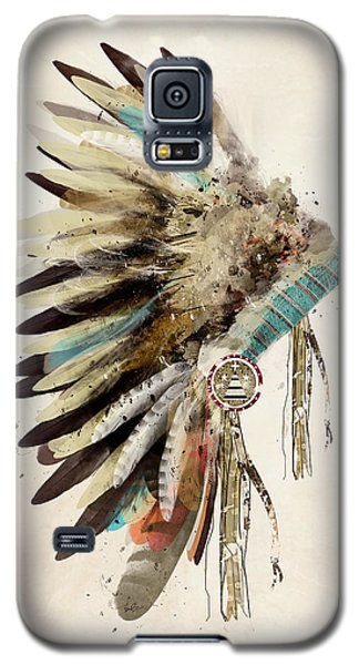 Native Headdress Galaxy S5 Case