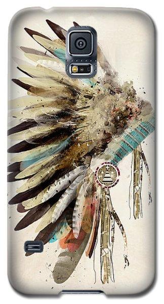 Niagra Falls Galaxy S5 Case - Native Headdress by Bleu Bri