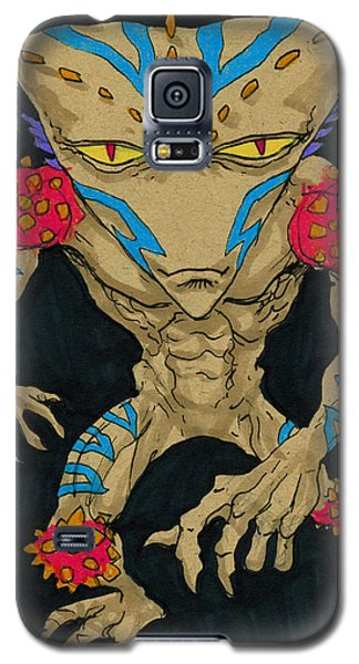 Native Lurcher Galaxy S5 Case