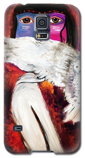 Native Owl Totem Galaxy S5 Case