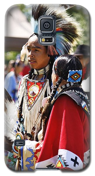 Galaxy S5 Case featuring the photograph Native Pride Shines by Al Fritz