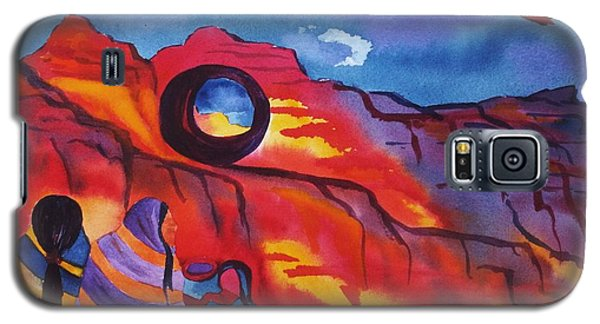 Native Women At Window Rock Galaxy S5 Case