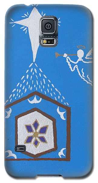 Nativity Scene Galaxy S5 Case by Brady Harness
