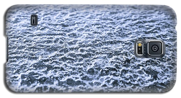 Natural Abstracts - Icy Surface Galaxy S5 Case