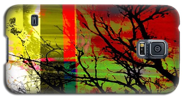 Galaxy S5 Case featuring the digital art Natural Beauty #2 by Diana Riukas