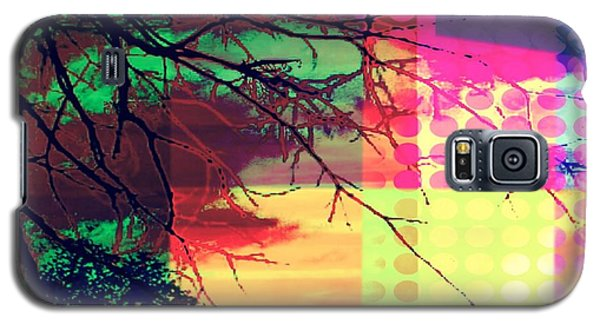 Galaxy S5 Case featuring the digital art Natural Beauty #4 by Diana Riukas