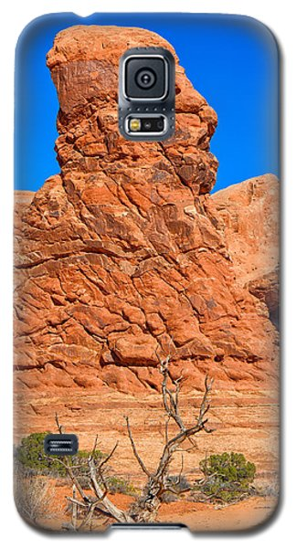 Galaxy S5 Case featuring the photograph Natural Sculpture by John M Bailey