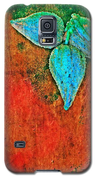 Galaxy S5 Case featuring the digital art Nature Abstract 11 by Maria Huntley