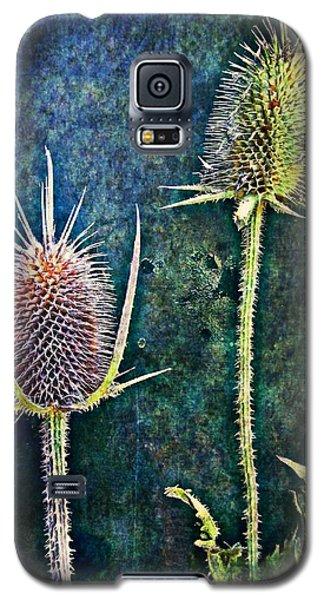 Galaxy S5 Case featuring the digital art Nature Abstract 12 by Maria Huntley