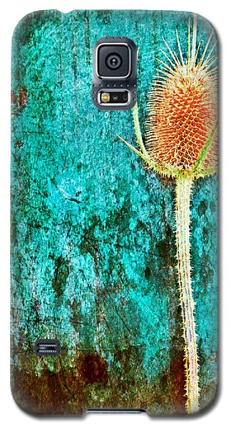 Galaxy S5 Case featuring the digital art Nature Abstract 13 by Maria Huntley