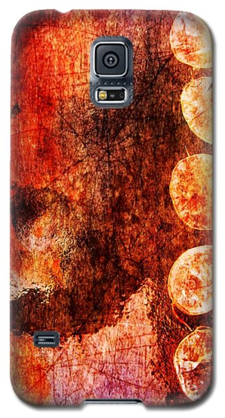 Galaxy S5 Case featuring the digital art Nature Abstract 3 by Maria Huntley