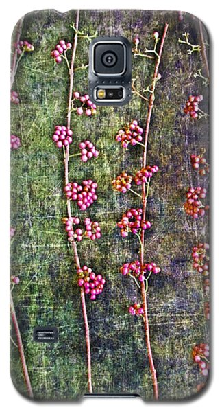 Nature Abstract 43 Galaxy S5 Case by Maria Huntley