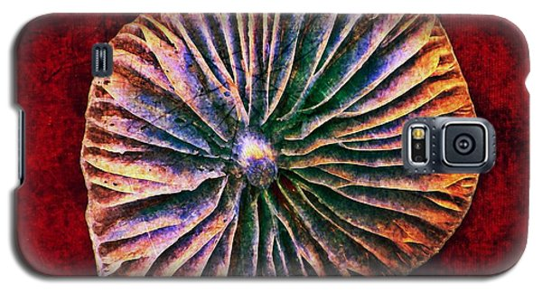 Galaxy S5 Case featuring the digital art Nature Abstract 7 by Maria Huntley
