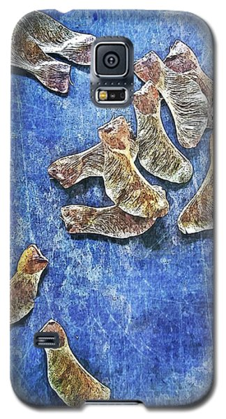 Nature Abstract 83 Galaxy S5 Case by Maria Huntley