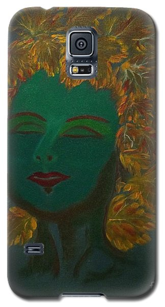 Galaxy S5 Case featuring the painting Nature At Her Best by Brindha Naveen